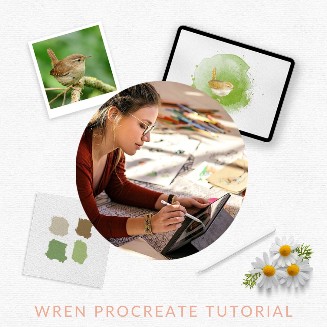 Watercolour procreate tutorial
